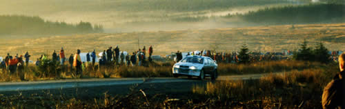 Rally GB 2002, just after dawn